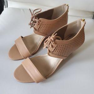BCBGeneration Beige Sandals Sz 9